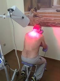 Αποτέλεσμα εικόνας για υπέρυθρη ακτινοβολία φυσικοθεραπεία